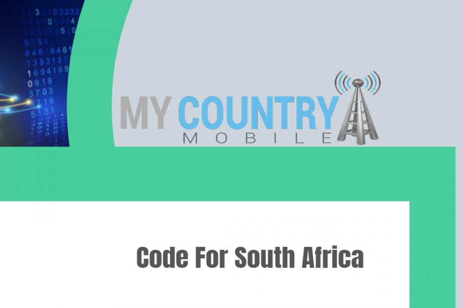 Code For South Africa - My Country Mobile