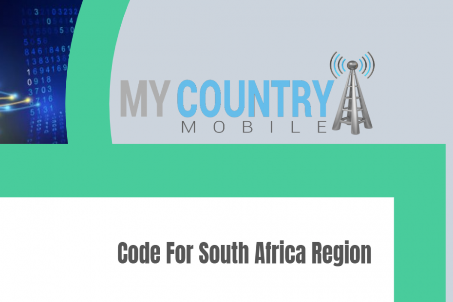 Code For South Africa Region - My Country Mobile